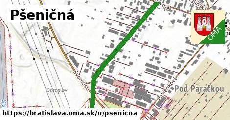 ilustrácia k Pšeničná, Bratislava - 475m