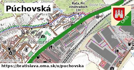 ilustrácia k Púchovská, Bratislava - 3,3km