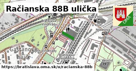 Račianska 88B ulička, Bratislava