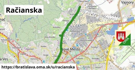 ilustrácia k Račianska, Bratislava - 11,9km