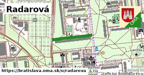 Radarová, Bratislava