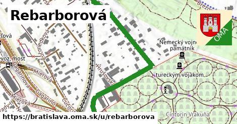 Rebarborová, Bratislava
