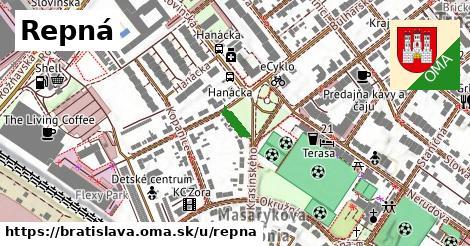 Repná, Bratislava