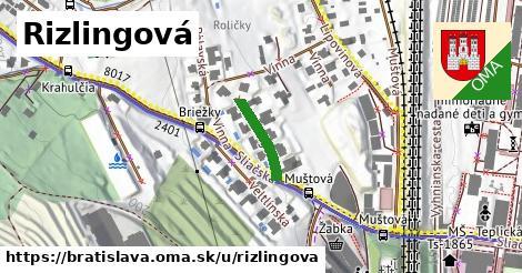 Rizlingová, Bratislava