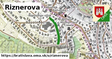 ilustrácia k Riznerova, Bratislava - 197m
