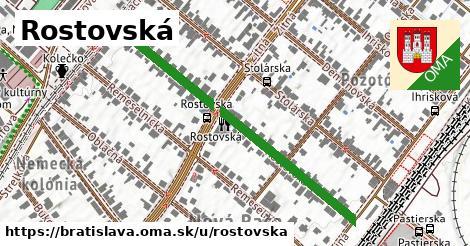 Rostovská, Bratislava
