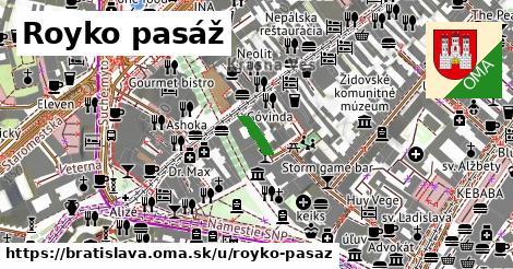 Royko pasáž, Bratislava