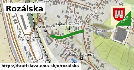 Rozálska, Bratislava