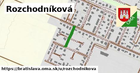 Rozchodníková, Bratislava