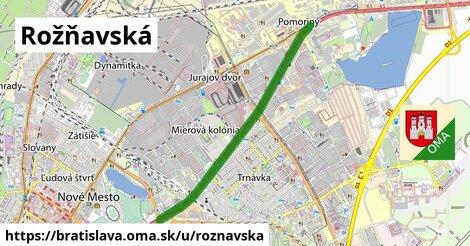 ilustrácia k Rožňavská, Bratislava - 6,0km