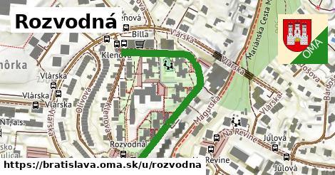 Rozvodná, Bratislava
