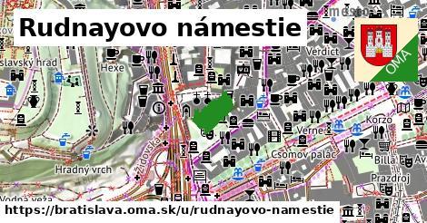 Rudnayovo námestie, Bratislava