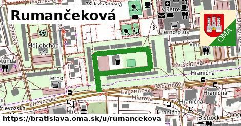 Rumančeková, Bratislava