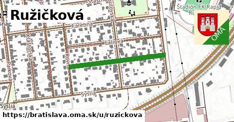 ilustrácia k Ružičková, Bratislava - 311m