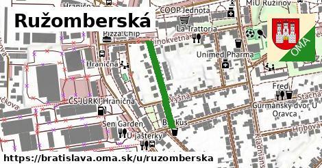 Ružomberská, Bratislava