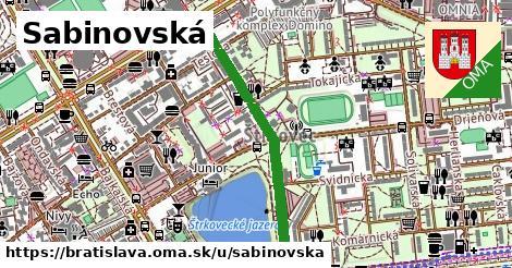 Sabinovská, Bratislava
