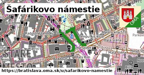 Šafárikovo námestie, Bratislava