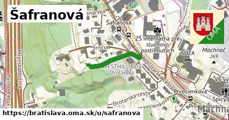 Šafranová, Bratislava
