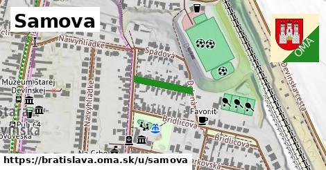 Samova, Bratislava