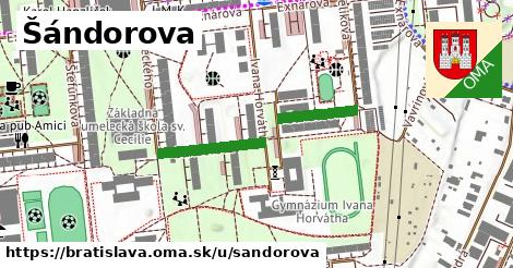 Šándorova, Bratislava