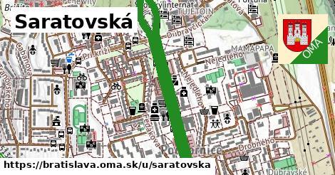 Saratovská, Bratislava