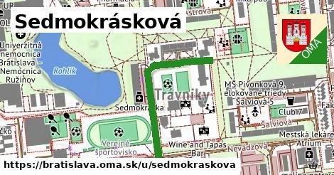 Sedmokrásková, Bratislava