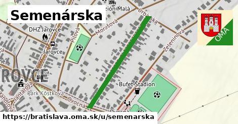 Semenárska, Bratislava