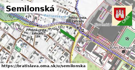Semilonská, Bratislava