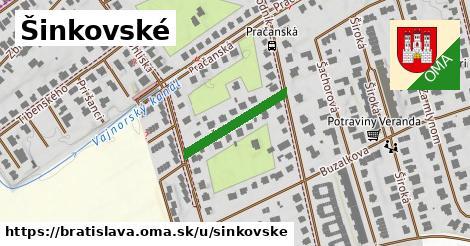 Šinkovské, Bratislava