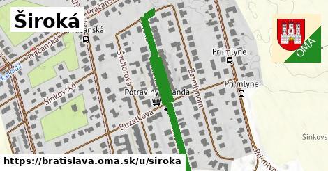 ilustrácia k Široká, Bratislava - 521m