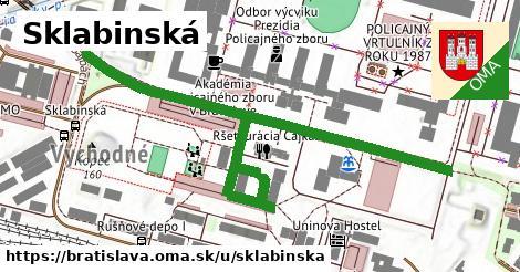 Sklabinská, Bratislava