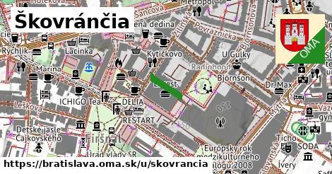 Škovránčia, Bratislava