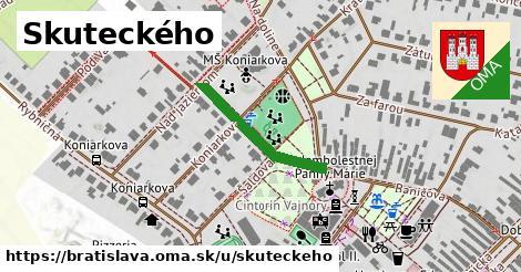 Skuteckého, Bratislava