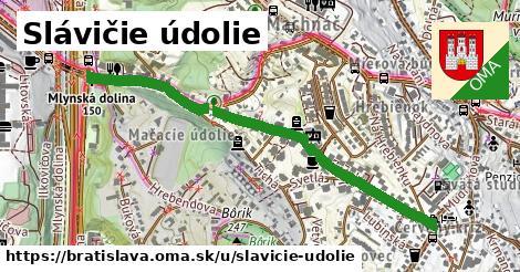 Slávičie údolie, Bratislava