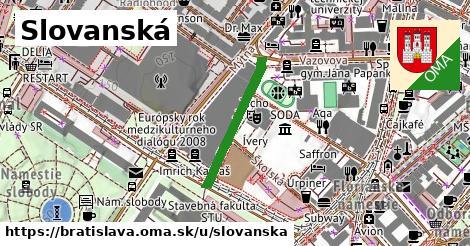 ilustrácia k Slovanské nábrežie, Bratislava - 1,61km