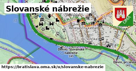 Slovanské nábrežie, Bratislava