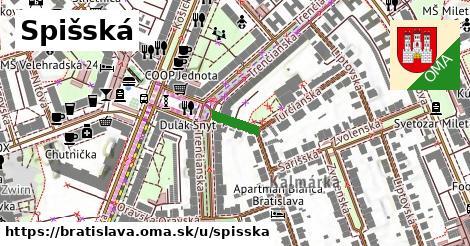 ilustrácia k Spišská, Bratislava - 77m