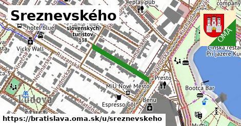 Sreznevského, Bratislava