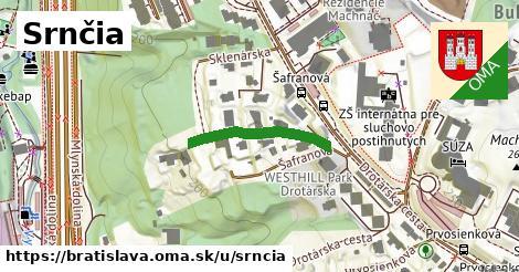 Srnčia, Bratislava