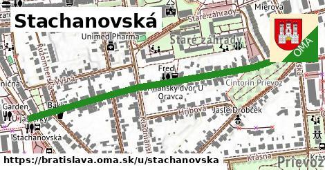 Stachanovská, Bratislava