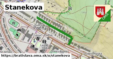 Stanekova, Bratislava