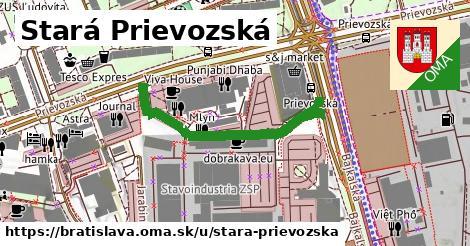 Stará Prievozská, Bratislava