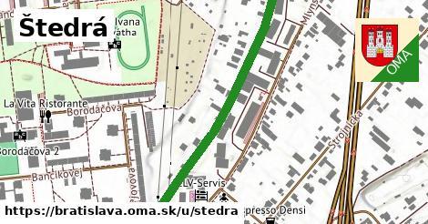 ilustrácia k Štedrá, Bratislava - 546m