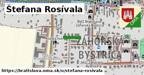 Štefana Rosívala, Bratislava