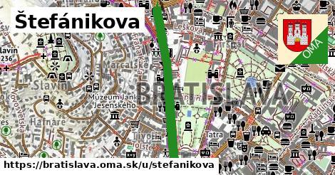 Štefánikova, Bratislava