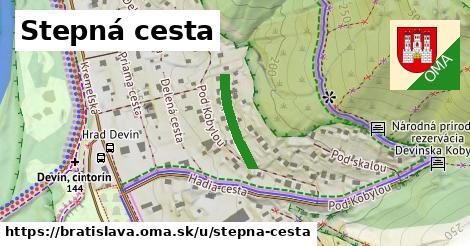 Stepná cesta, Bratislava