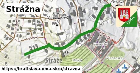 ilustrácia k Strážna, Bratislava - 590m