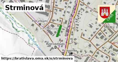 Strminová, Bratislava