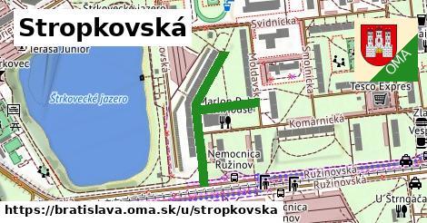 Stropkovská, Bratislava