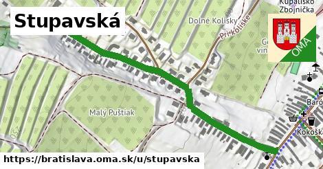 ilustrácia k Stupavská, Bratislava - 651m